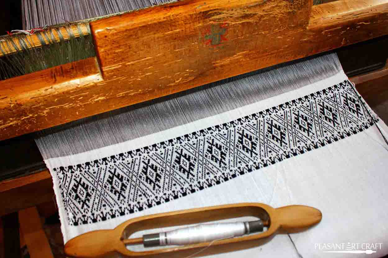 Textile Weaving Demonstration