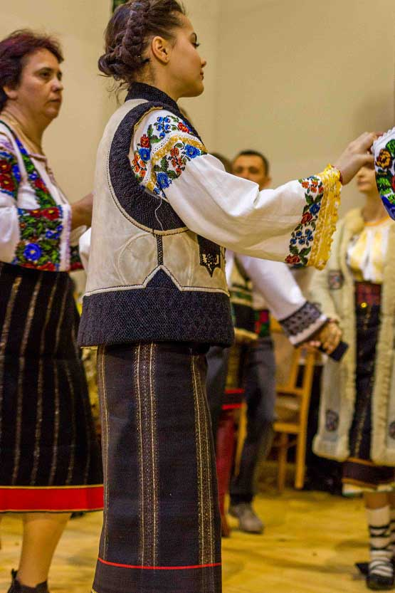 Romanian Traditional Clothing From Bucovina