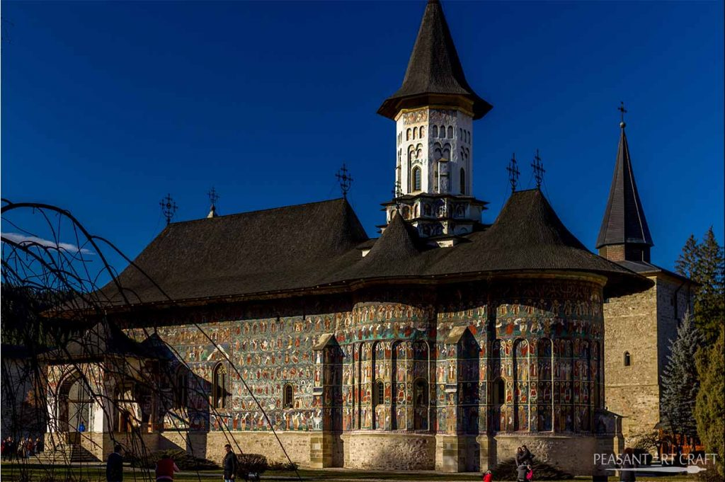 Visit Bucovina Painted Monasteries