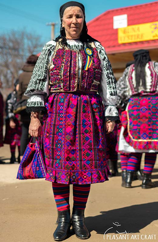 Romanian Folk Costumes From Transylvania