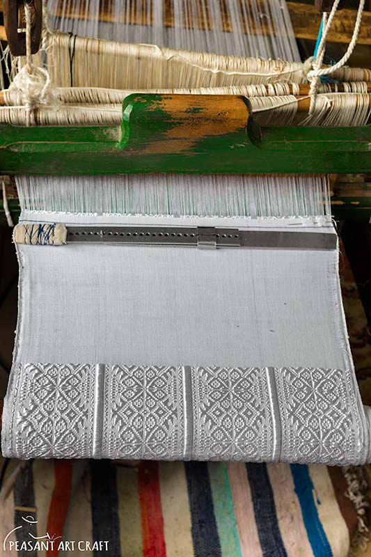 Weaving in the Village of Drăguș Transylvania