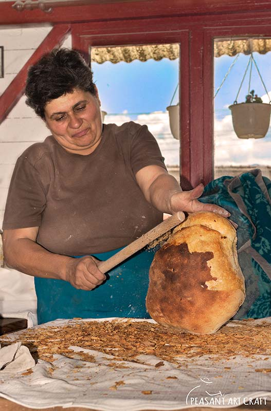 Artisanal Bread Baking Crusty Country Style Székely Battered Boule