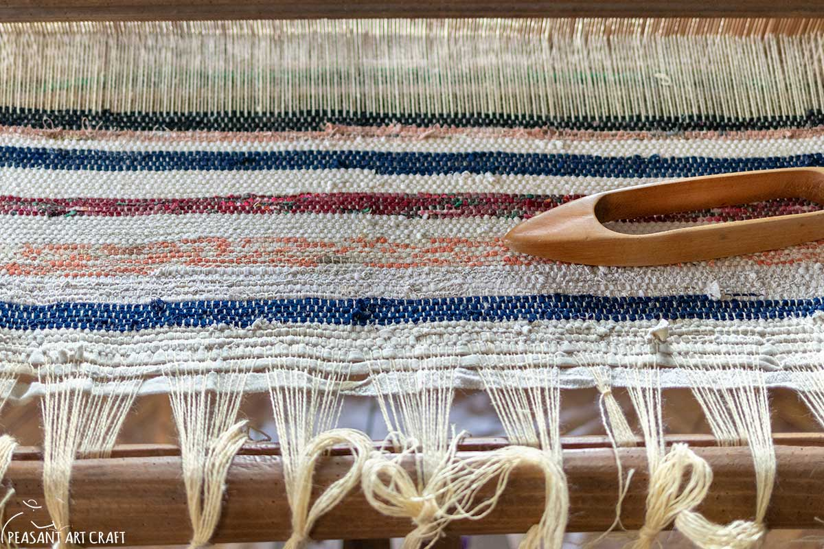 Rag Rug Weaving Workshop